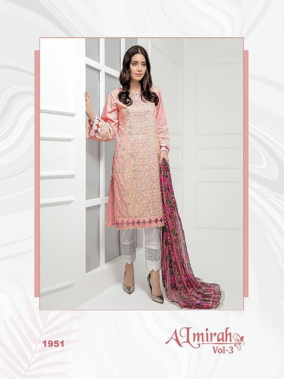 Shree Fabs Almirah Vol 3 With Open Image