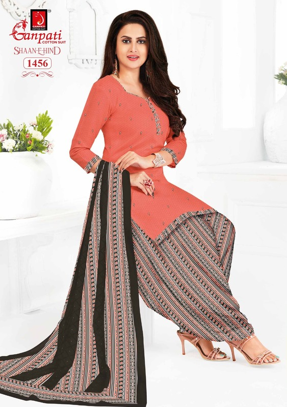 Ganpati Shaan E Hind Ruhi Vol 3 With Lining Suits