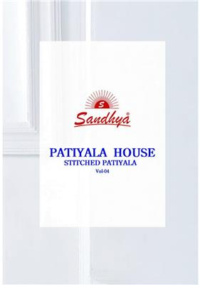 Sandhya Patiyala House Vol 4 Readymade