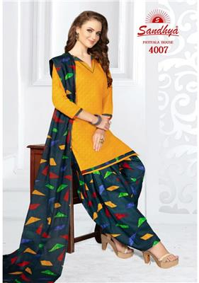 Sandhya Patiyala House Vol 4 Readymade - 4007