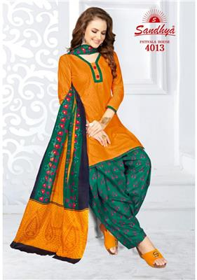 Sandhya Patiyala House Vol 4 Readymade - 4013