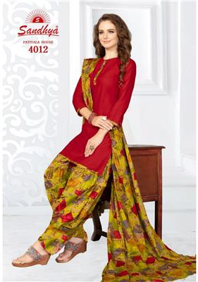 Sandhya Patiyala House Vol 4 Readymade - 4012