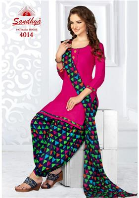 Sandhya Patiyala House Vol 4 Readymade - 4014