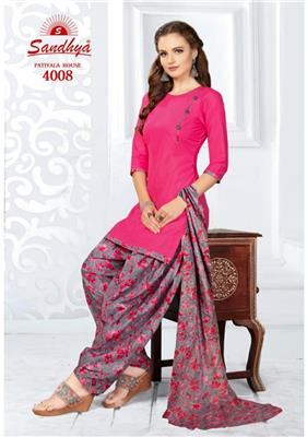 Sandhya Patiyala House Vol 4 Readymade - 4008