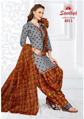 Sandhya Patiyala House Vol 4 Readymade - 4011
