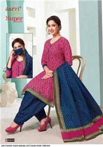 Aarvi Super Patiyala Vol 2 Stitched - 4842