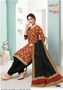 Aarvi Super Patiyala Vol 2 Stitched - 4849