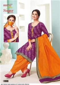Aarvi Super Patiyala Vol 2 Stitched - 4850