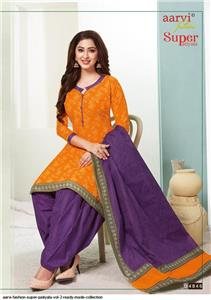 Aarvi Super Patiyala Vol 2 Stitched - 4846