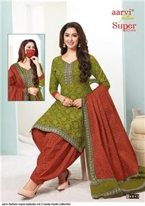 Aarvi Super Patiyala Vol 2 Stitched - 4843
