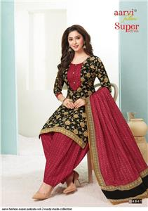 Aarvi Super Patiyala Vol 2 Stitched - 4841