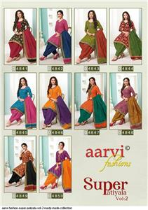 Aarvi Super Patiyala Vol 2 Stitched