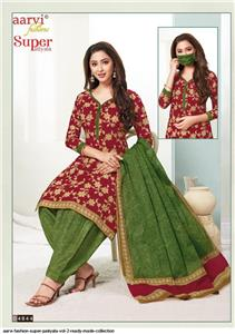 Aarvi Super Patiyala Vol 2 Stitched - 4844