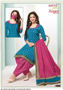 Aarvi Super Patiyala Vol 2 Stitched - 4845