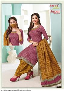 Aarvi Super Patiyala Vol 2 Stitched - 4848