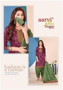Aarvi Super Patiyala Vol 3 Stitched