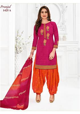 PRANJUL PREKSHA VOL 14 PATIYALA SPECIAL READYMADE SUITS