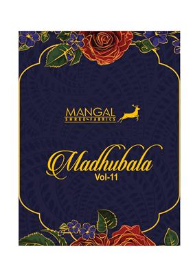 MANGAL SHREE MADHUBALA VOL 11_PURE_HEAVY_COTTON_DRESS_MATERIALS_001