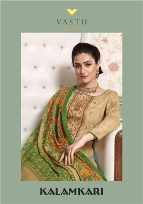 Vastu Kalamkari Lawn Vol 1_wholesale_lawn_cotton_dress_material_12